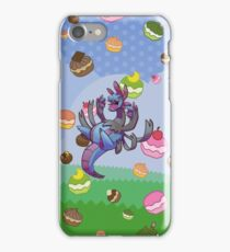 Hydreigon loves pokepuffs! iPhone Case/Skin