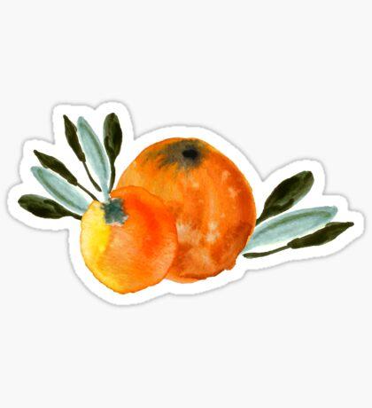 Sonnige Orange Sticker