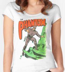 phantom # 36 Women's Fitted Scoop T-Shirt