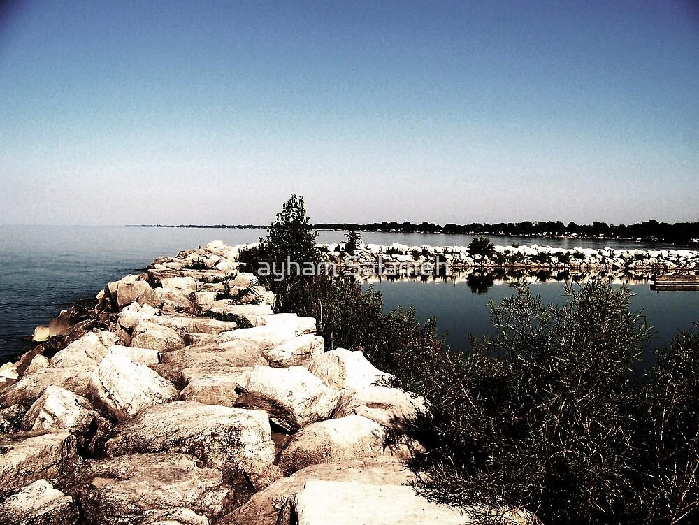 Rock Island  by ayham Salameh