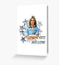 OLIVIA NEWTON-JOHN - Get Mellow 1970s Greeting Card