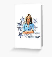 OLIVIA NEWTON-JOHN - Get Mellow 1970s Greeting Card