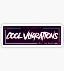 CoolVibrations Slap sticker Sticker