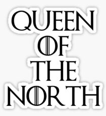 Queen Of The North Sticker