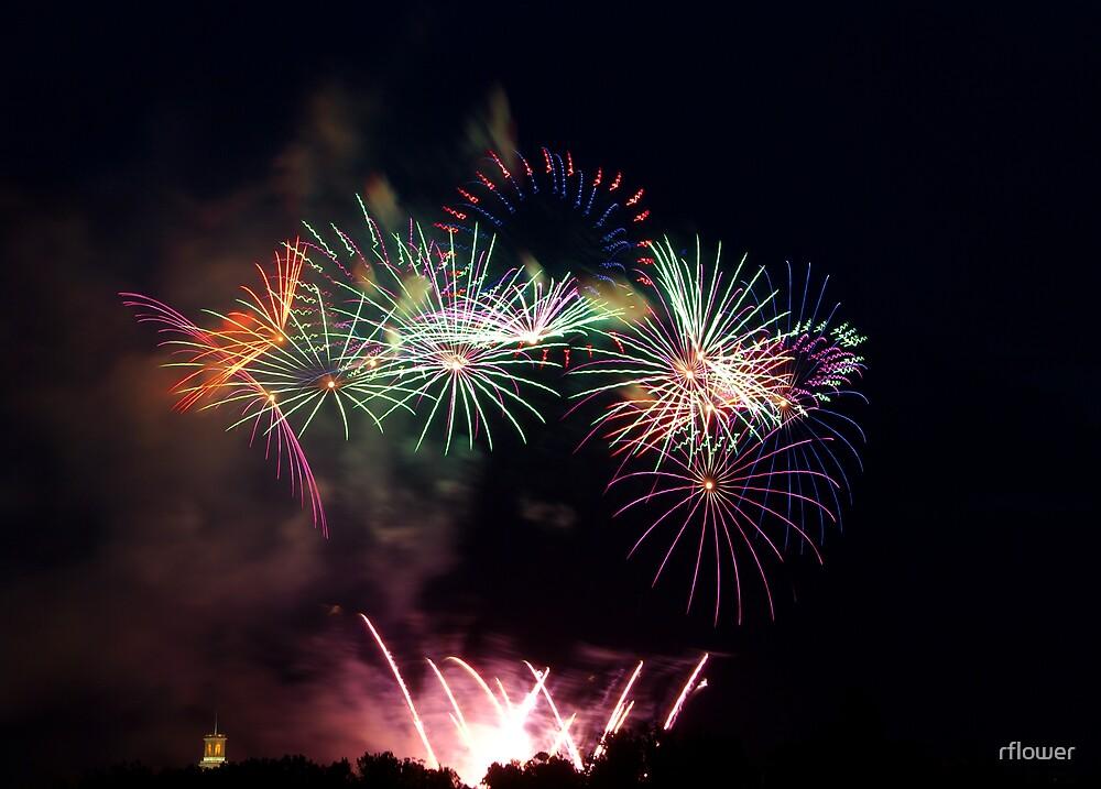 Fireworks from Australia Day by rflower
