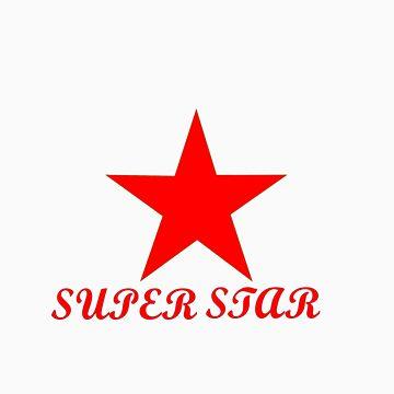 SuperStar Tee by Auzriell