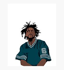 J cole Photographic Print