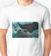 MOTHMAN DIVE BOMBING SASQUATCH Unisex T-Shirt