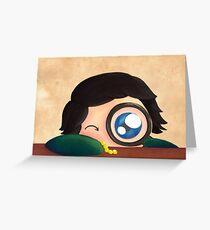 Curiousity Greeting Card