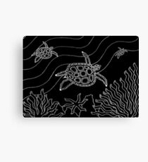 Goorlil - (turtle) monsoon season Canvas Print