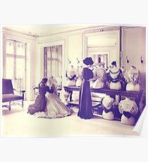 Vintage Dressmaker Poster