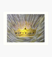 Crown Of Glory (Illuminated) Art Print