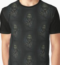 Boogie Horror: Mirror Mask - Patterned Graphic T-Shirt
