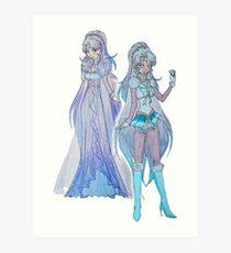 sailor/princess winter Art Print