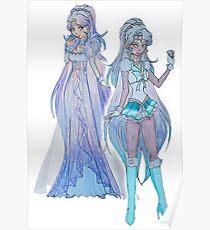 sailor/princess winter Poster