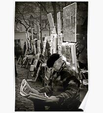The Montmartre Reader Poster