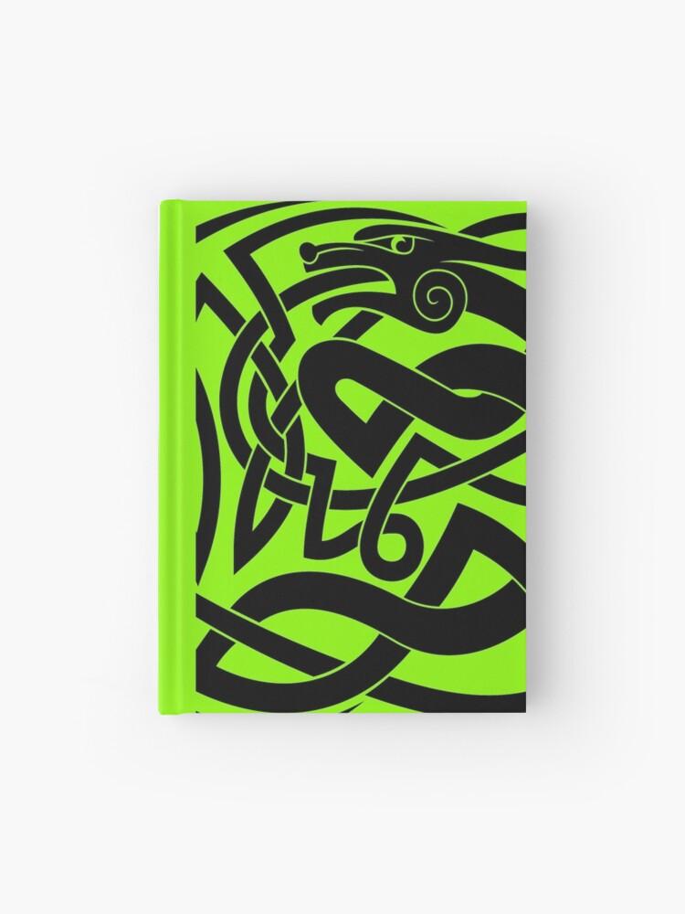 Celtic Shapeshifter symbol   Hardcover Journal