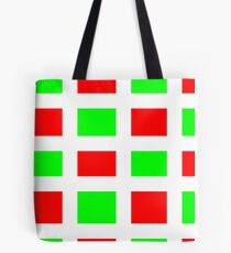 Red and Green here for you!!!! Tote Bag