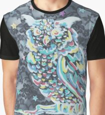 Lovely Night Owl Graphic T-Shirt