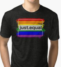 Make The Campaign Better With Rainbows! Tri-blend T-Shirt