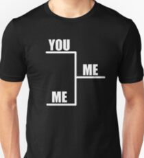 You Vs. Me Bracket T-Shirt