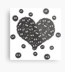 Heart of Soot Sprites Metal Print