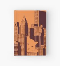 Cat in the Big City Hardcover Journal