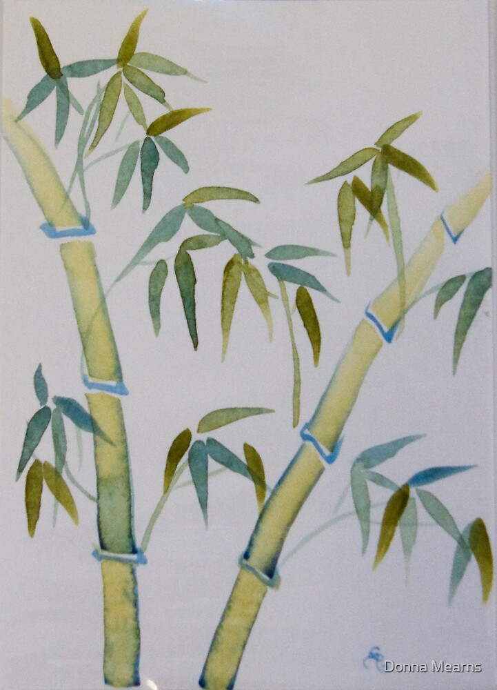 Green Bamboo by Donna Mearns