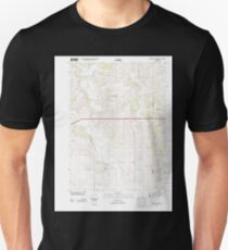 USGS TOPO Maps Iowa IA Oakland Acres 20130411 TM Unisex T-Shirt