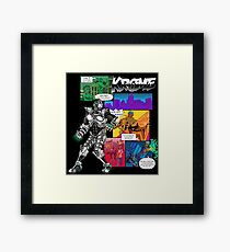 Krome Comic Framed Print