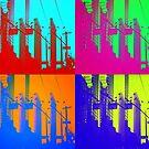 5 x 5 buildings x 4 by ShellyKay