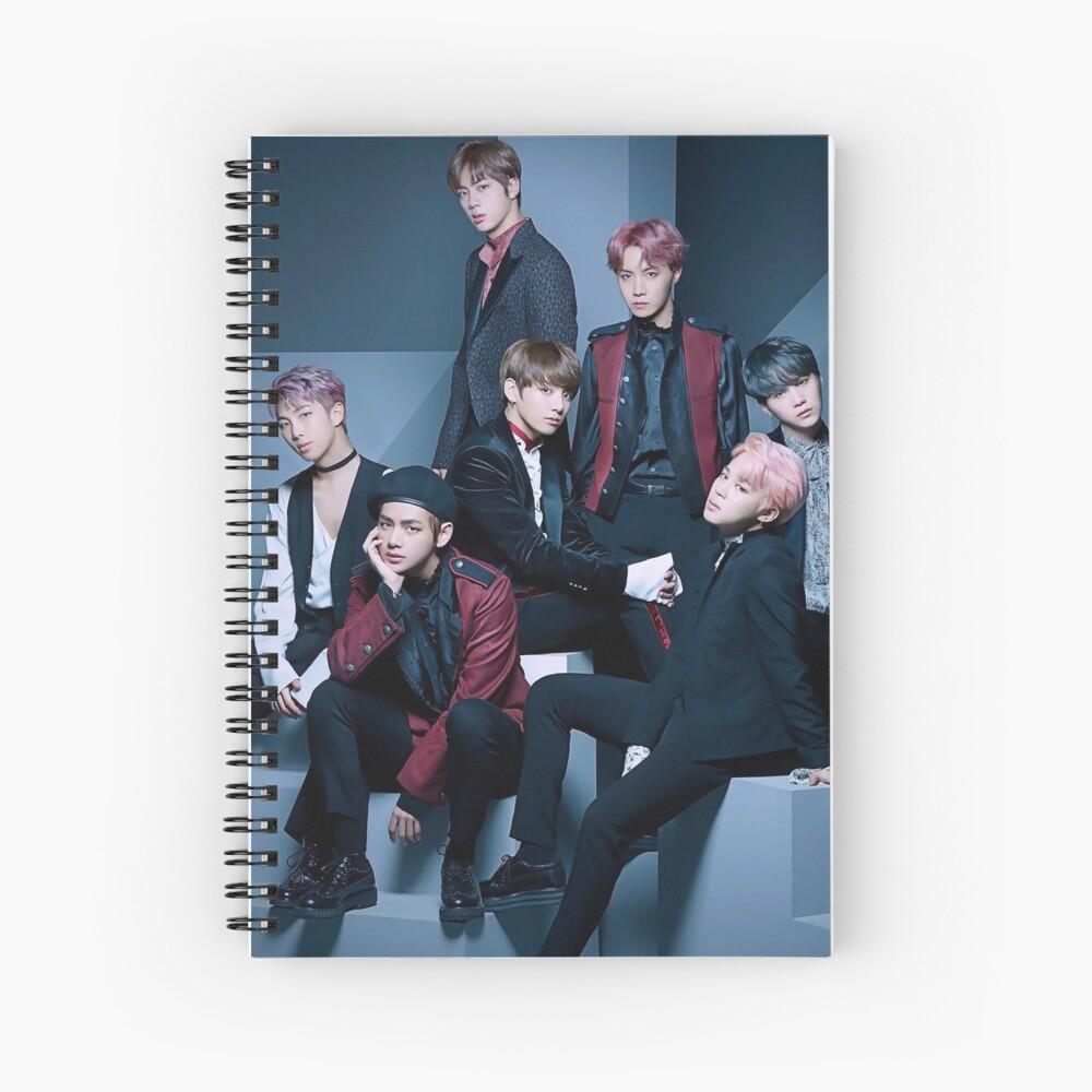 BTS-Gruppe Spiralblock