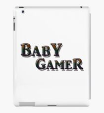 baby gamer wired controller iPad Case/Skin