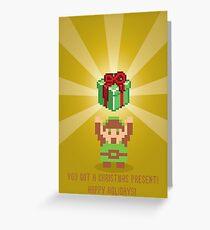 "The Legend of Zelda- ""You Got a Present!"" Greeting Card"