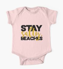 Stay Salty One Piece - Short Sleeve