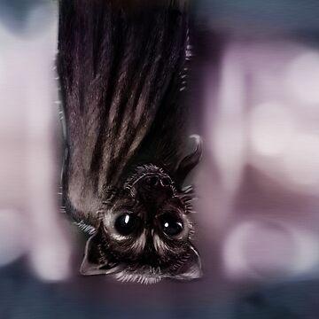 Bat Hanging by frooglekade