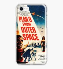 Plan 9 from Outer Space - vintage movie poster iPhone Case/Skin