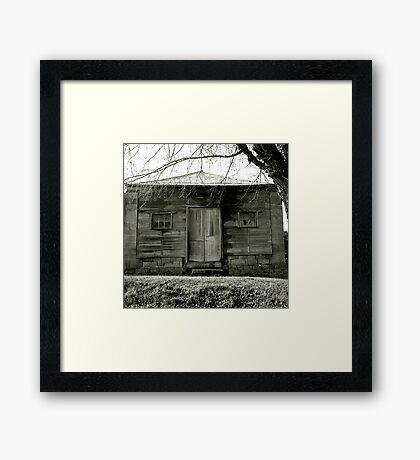 Timber cottage near Maldon Framed Print