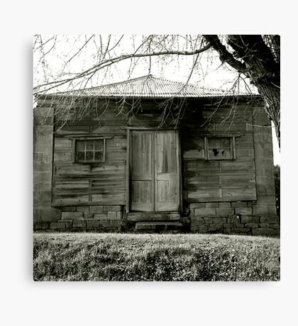 Timber cottage near Maldon Canvas Print
