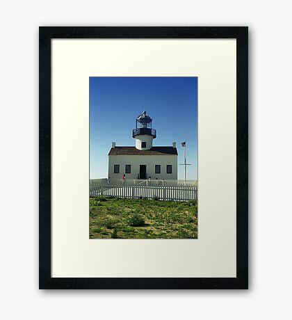 Lighthouse, San Diego Framed Print