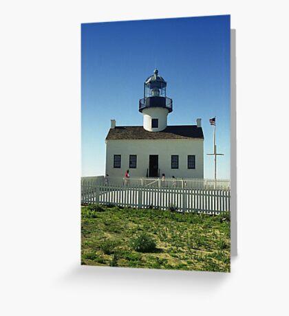 Lighthouse, San Diego Greeting Card