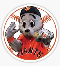 Lou Seal, Low Poly Style Sticker