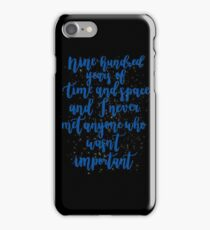 the doctor is old and knows stuff iPhone Case/Skin