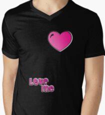 love me Men's V-Neck T-Shirt