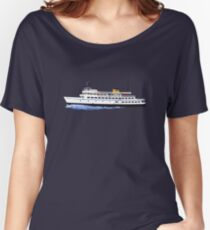 Block Island Ferry - the Carol Jean Women's Relaxed Fit T-Shirt