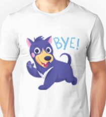 Bye dog shirt pixel distortion T-Shirt