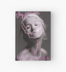 they don't care - buy 'till u drop dead Hardcover Journal