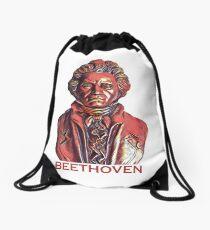 Beethoven the Bold Drawstring Bag