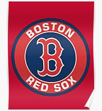 Boston RedSox Baseball Team Poster