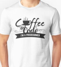 programmer : coffee and code. I am a programmer T-Shirt